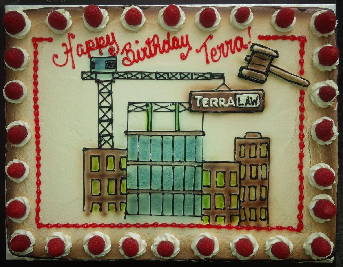 TLG One Year Birthday Cake